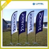 Flagpole di alluminio della spiaggia di resistenza del vento