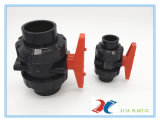 BSPT 유형 Dn20-110mm를 가진 플라스틱 PVC 공 벨브