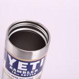 Bouteille isolée par vide d'acier inoxydable de bouteille de Rambler du Yeti 18oz