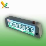 Affichage LED couleur haut de taxi pour la publicité