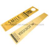 Una tarjeta de encargo más fina del plástico del PVC de la dimensión de una variable irregular de la talla estándar