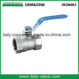 Valvola a sfera d'ottone riduttrice alta pressa di qualità dell'Europa (AV-BV-1048)