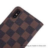 iPhone x аргументы за телефона бумажника кожи решетки способа
