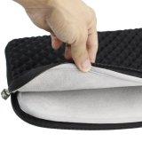 Защитный пеноматериал алмазов и ударопрочная дорожная сумка из неопрена для 11,6 - 12,5-дюймовые ноутбуки, черного цвета