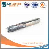 O raio do canto de carboneto R0.5X50 2/4 Flautas Extremidade Plana Mills