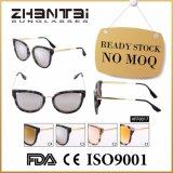 Óculos de sol fêmeas UV400 da alta qualidade da forma do olho de gato (HFF0017)