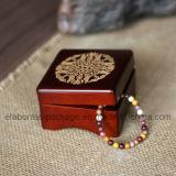 Doos van de Armband van de Juwelen van het Embleem van de Douane van de hoogste Kwaliteit de Houten met Lage Prijs