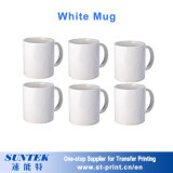 11oz Sublimation Porelain vierge blanc céramique Mug tasse tasse Magic