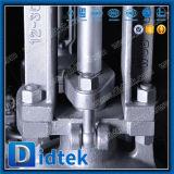 Engranaje Didtek Bw Wcb Válvula de compuerta para la refinería