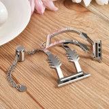 Edelstahl-Metallbrücke-Frauen-Armband für Iwatch Brücke