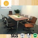 Moderner hölzerner Büro-Trainings-Tisch (E9a)