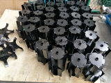 El cultivador de la cabeza de lanza de trabajo de la hoja 26 mm, 7t, 9t,