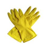 Бытовые кухонные чистящие латексные перчатки Rubebr