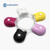 Eindeutige Minizähne des BLAU-LED, die Licht weiß werden
