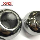 Partes del cuerpo de la vávula de bola del carburo de tungsteno del certificado de la calidad de la ISO