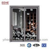 Portas de porta corrediça de alumínio para venda