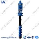 Turbine vertical électrique submersible profonde de la pompe à eau