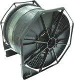De Coaxiale Kabel van het Schild van de vierling RG6 met Boodschapper voor Apparatuur CATV/Matv/CCTV