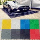 Le carrelage de garage, Rib feuille de plastique pour plancher, tapis de voiture de garage