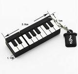 聖餐のギフトのピアノPVC USBのフラッシュはキーボード16GB 8g 4giga音楽記憶を運転する