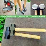Инструменты-2фунтов американского типа салазочного молоток с деревянной ручкой XL0121
