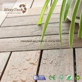 Tuile de verrouillage de Decking du patio WPC de Foshan avec 300*300mm