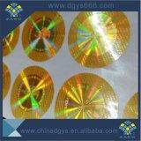 Design personalizado segurança autocolante com holograma Anti-Fake fabricados na China