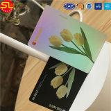 Cartão pagado antecipadamente PVC sem contato de Cr80 RFID para o transporte