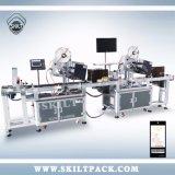 Automatische Plastiktasche-Etikettiermaschine mit Seitenwechsel