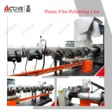 PP PE Film ligne Agglomerator bouletage avec du plastique