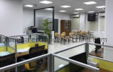 카타르 프로젝트 해결책 30mm 알루미늄 사무실 칸막이실 및 의자
