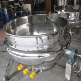 De Overhellende Ketchup van de Rang van het voedsel/het Verwarmen van de Margarine Beklede Kokende Ketel