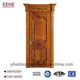 Projetos de madeira da porta do quarto em portas de madeira de Paquistão