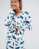 Высокое качество на всем пижамы женщин печатание