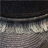 方法女性帽子の女性の麦わら帽子