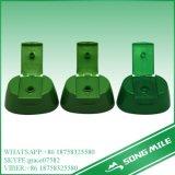 24mm pp. grüner Tisch-Plastikschutzkappe für Shampoo-Flasche