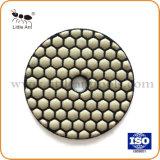 """3 """" /80mm asciugano gli strumenti abrasivi del hardware del tampone a cuscinetti per lucidare del pavimento del diamante"""