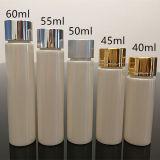 40ml PETGは化粧品に使用するアルミニウム帽子が付いている明確なびんを空ける