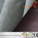 190t Ripstop Poliéster Taffeta com ambos os lados com revestimento de PU/tecido revestido a PU/tecido revestido