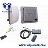 Resistente al agua 40W celular CDMA GSM 3G 4glte señal GPS WiFi Jammer (con batería incorporada)