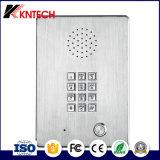Téléphone sans fil Knzd-03 d'ascenseur d'acier inoxydable de téléphone industriel