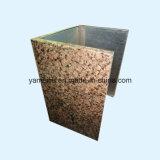 De Bekledingen van de Muur van het Aluminium van het Comité van de Honingraat van de Kleur van de steen