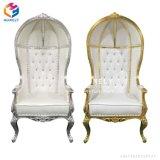 Presidenze all'ingrosso del trono del re e della regina di cerimonia nuziale da vendere Hly-Sf67