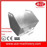 Коробка металла части OEM точности пробивая