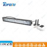 Coche auto LED de la viga combinada de IP67 120W que trabaja la barra ligera