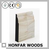 panneau de bordage en bois 80X15 solide moulant pour l'Européen
