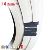 Finestra di vetro di giro dell'alluminio fatta in Cina