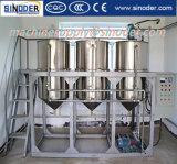 Refinaria de petróleo crua pequena do amendoim da máquina comestível da refinação de petróleo do girassol