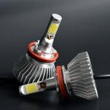 가장 싼 차 장비 해바라기 H11 LED 차 헤드라이트