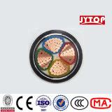 4X185sq. mm kupfernes XLPE Isolier-Belüftung-MantelLeistungs-Kabel